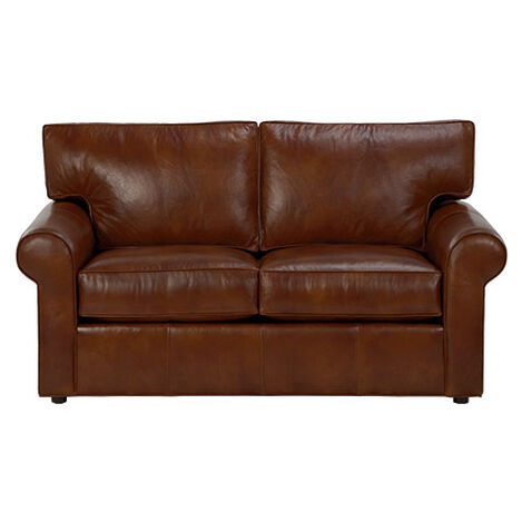 Retreat Roll-Arm Leather Sofa ,  , large