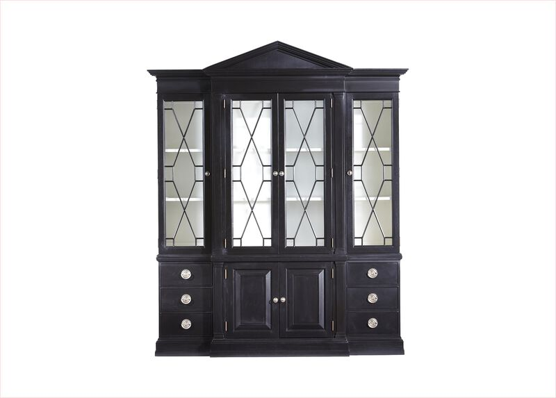 Wooster China Cabinet ,  , large_gray