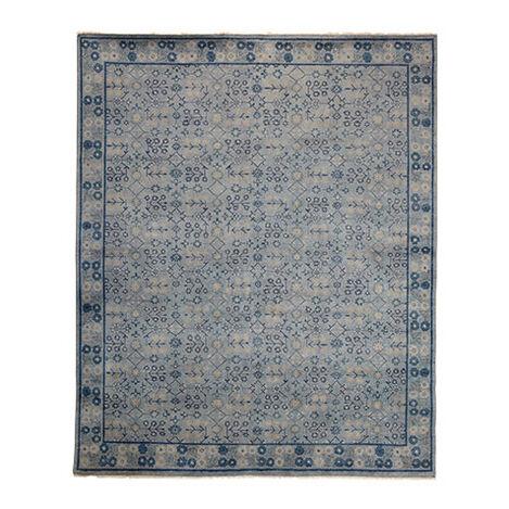 Khotan Rug, Gray/Blue ,  , large