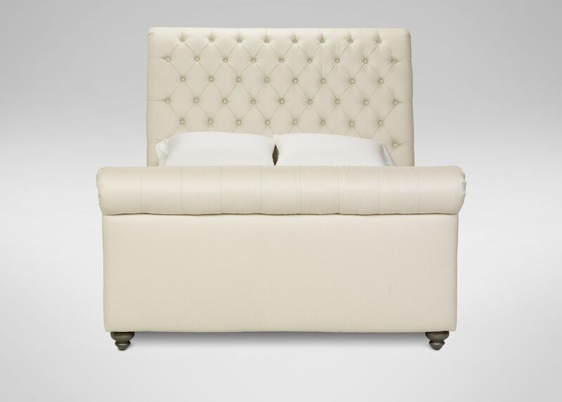 Haven Bed with High Footboard ,  , large_gray