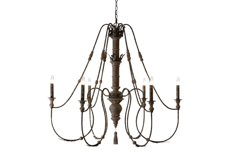 Declan Charcoal Chandelier ,  , large_gray