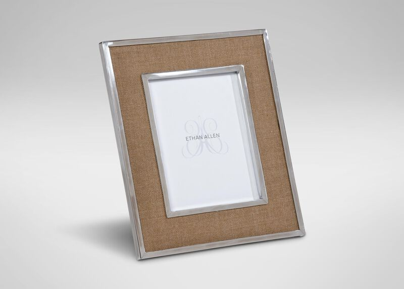 "Natural Wool 8"" x 10"" Photo Frame at Ethan Allen in Ormond Beach, FL 