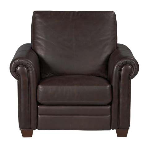 Conor Leather Recliner   large ...  sc 1 st  Ethan Allen & Shop Recliners | Leather and Fabric Recliner Chairs | Ethan Allen islam-shia.org