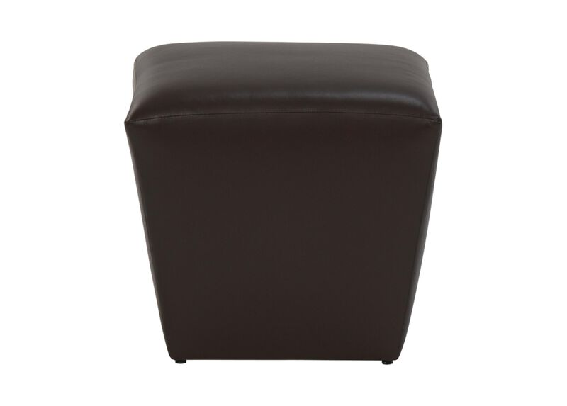 Lewis Leather Ottoman ,  , large_gray
