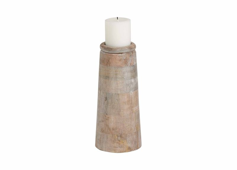 Large Dillon White Candleholder ,  , large_gray