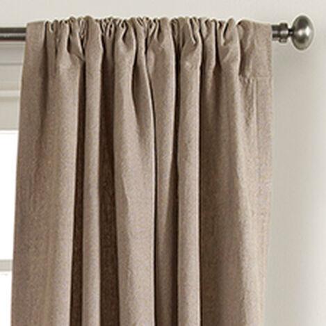 Natural Sayre Washed Linen Rod-Pocket Panel ,  , hover_image
