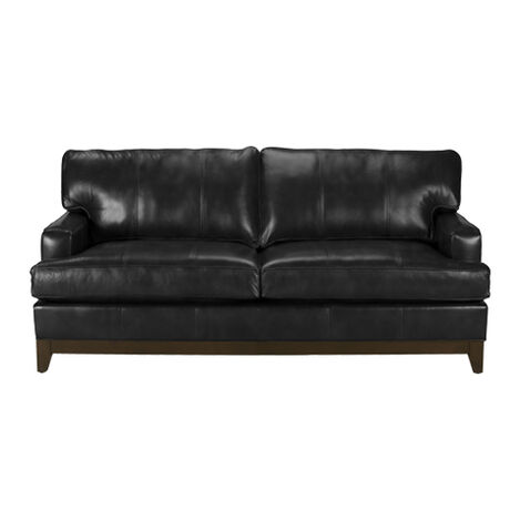 72 Leather Sofa 6 Belgian Track Arm Leather Sofa 72