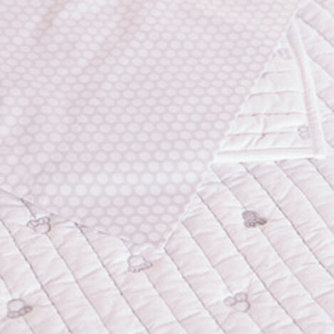 How Sweet Quilt and Sham, Silver ,  , hover_image