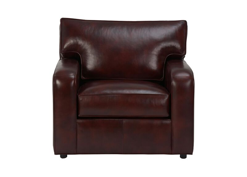 Retreat Track-Arm Leather Chair ,  , large_gray