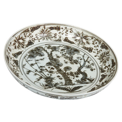 Ming Scenic Low Bowl ,  , large