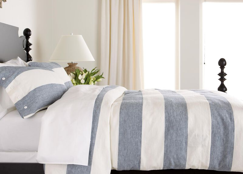 Aldon Stripe Duvet Cover ,  , large_gray