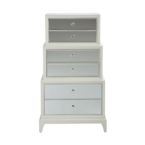 Flynn Mirrored Chest Bedroom Dressers Chests