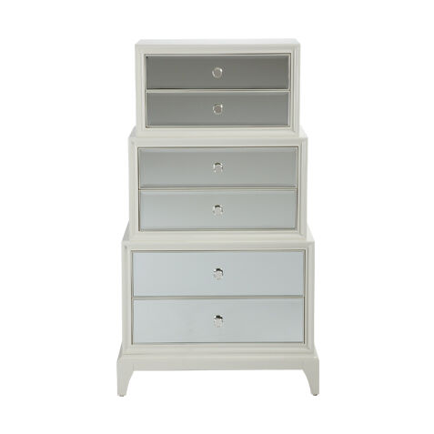 flynn mirrored chest bedroom dressers u0026 chests