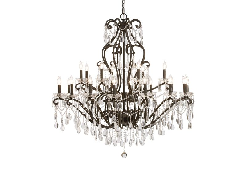 Whitney Slate Grand Chandelier ,  , large_gray