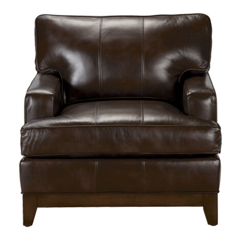 Arcata Leather Chair Quick Ship LIVING ROOM