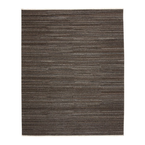 Wool Soumak Rug, Dark Gray ,  , large