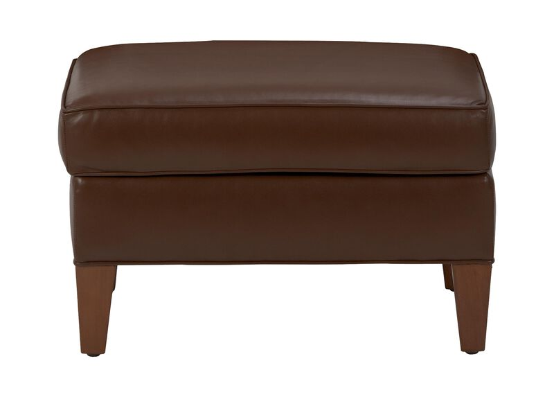 Adam Leather Ottoman ,  , large_gray