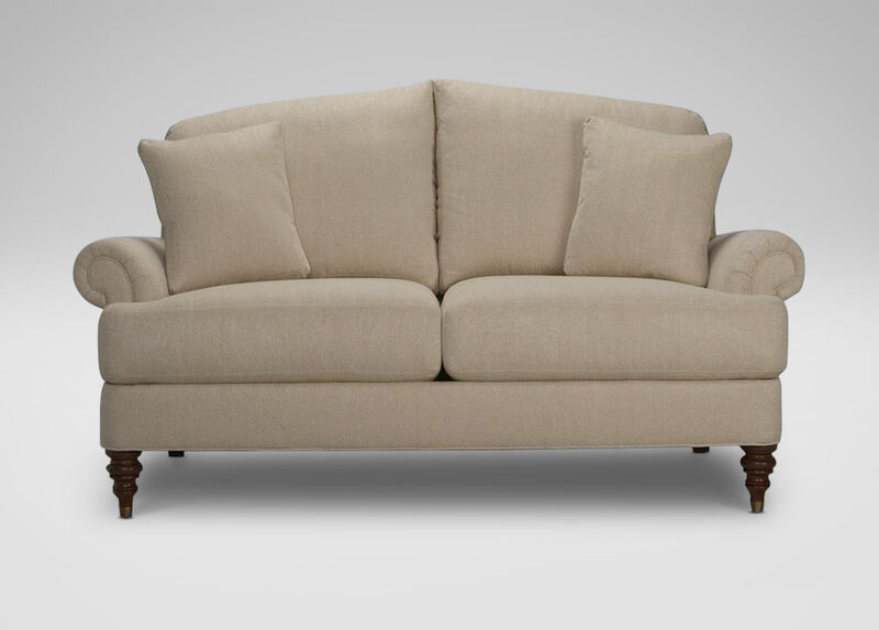 Hyde Two-Cushion Sofa and Loveseat ,  , large_gray