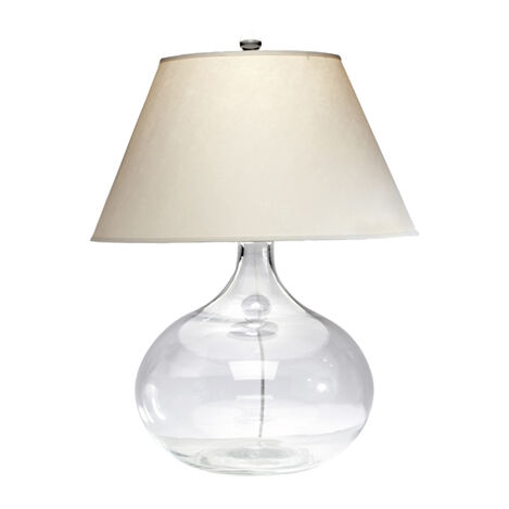 Clear Glass Table Lamp ,  , large