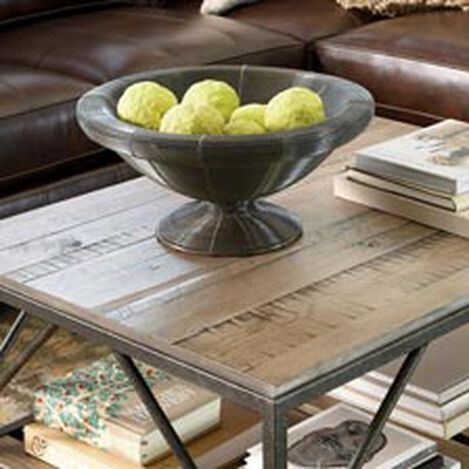 Large Double Wire Pedestal Bowl Hover Image