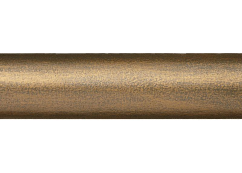 "1 3/8"" Smooth Wood Pole, Rose Gold ,  , large_gray"