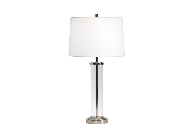 Glass Cylinder Accent Lamp ,  , large_gray