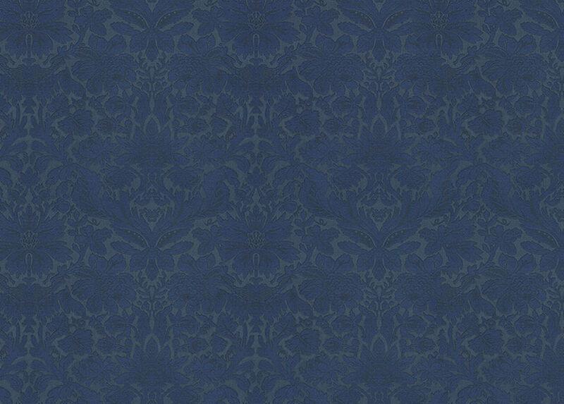Hagan Navy Fabric by the Yard ,  , large_gray