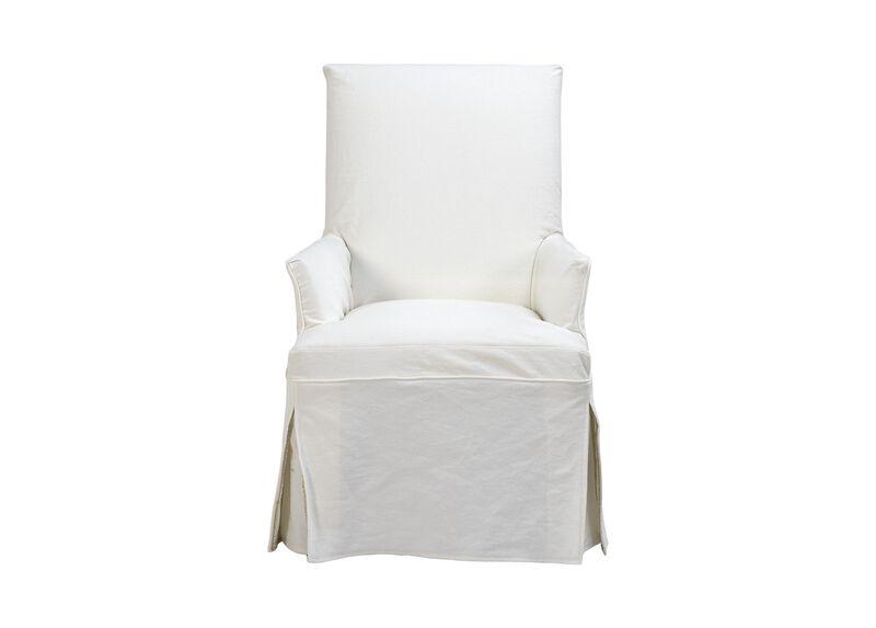Dayton Slipcovered Chair ,  , large_gray