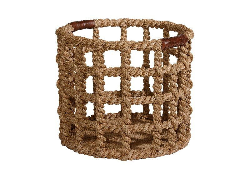 Bailey Island Floor Basket at Ethan Allen in Ormond Beach, FL | Tuggl
