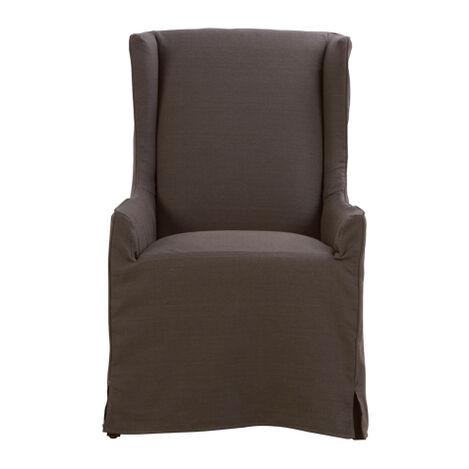 Larkin Slipcovered Host Chair ,  , large