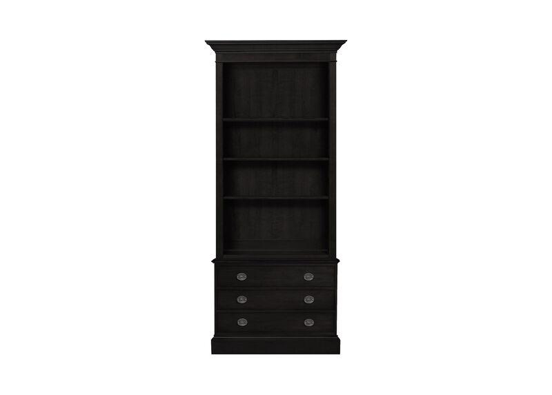 Villa Single File Bookcase ,  , large_gray