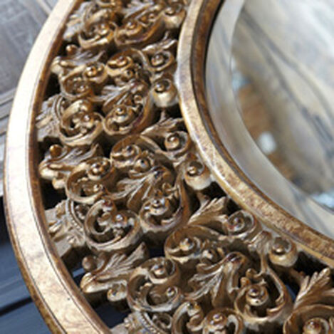 Round Florentine Mirror ,  , hover_image