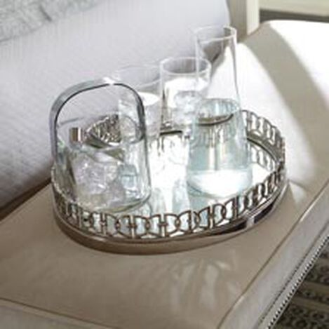 Nickel Oval Link Tray ,  , hover_image