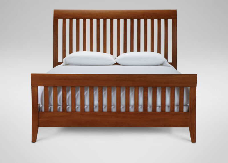 Teagan Sleigh Bed at Ethan Allen in Ormond Beach, FL | Tuggl