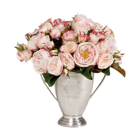 Pink Rose and Magnolia Arrangement ,  , large