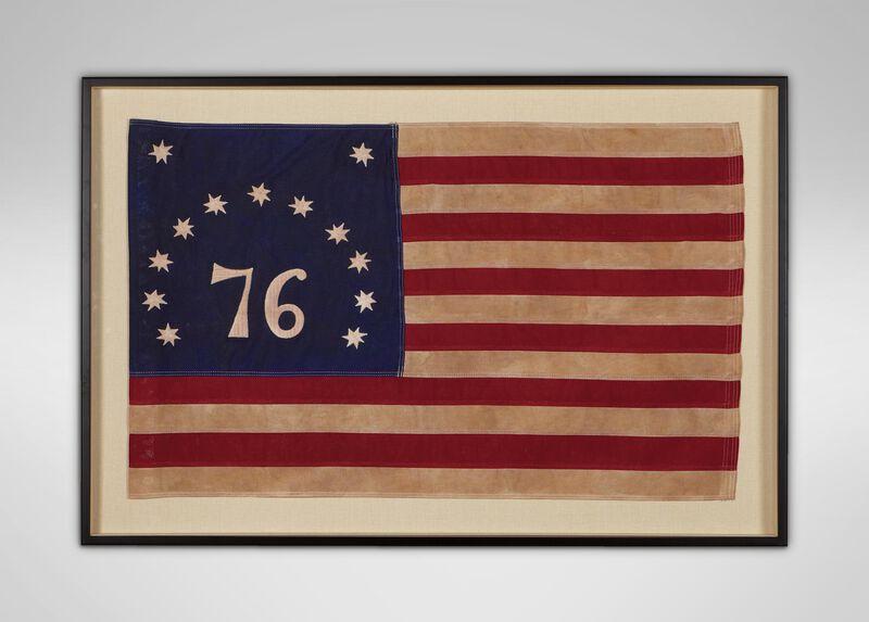 Vintage Bennington Flag ,  , large_gray