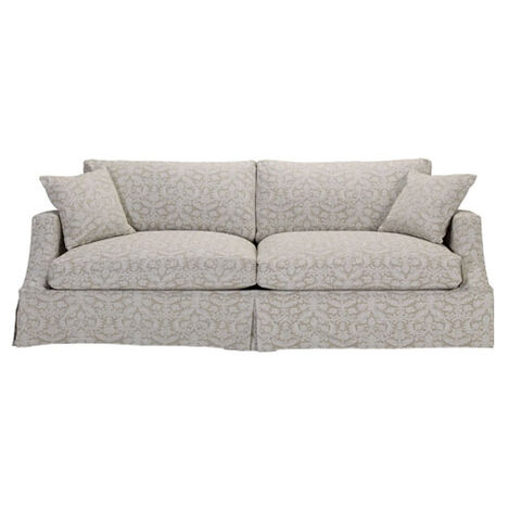 Lynn Slipcovered Sofa ,  , large