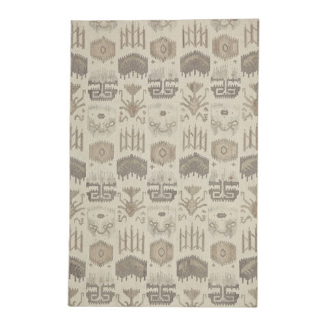 tribal mosaic rug ivorymulti large