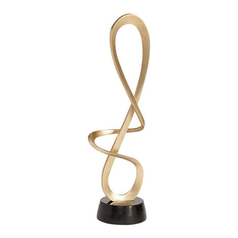 Entwined Nickel Sculpture ,  , large
