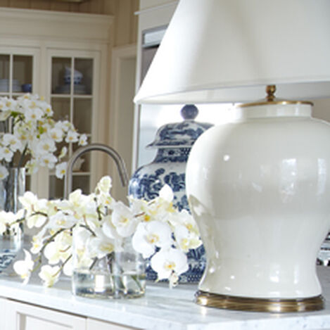 Large Keeley Table Lamp Hover Image