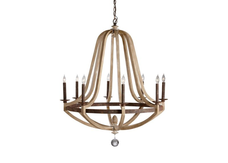 Grand Geneva Chandelier ,  , large_gray