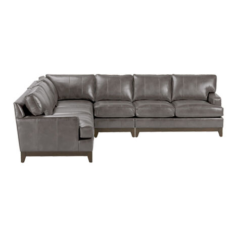 Shop Sectionals Leather Living Room Sectionals Ethan Allen