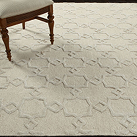 Lattice Soumak Rug, Natural ,  , hover_image
