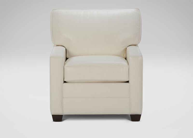 Bennett Track-Arm Leather Chair ,  , large_gray