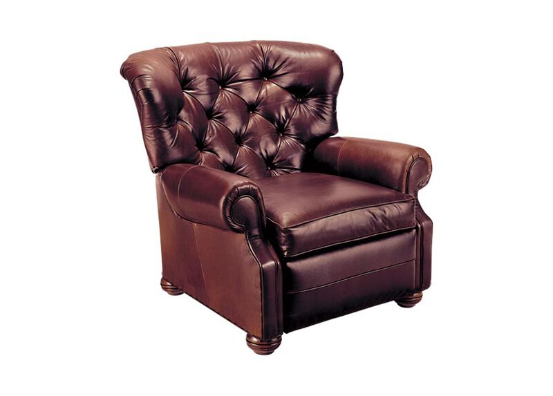Cromwell Leather Recliner ,  , large_gray