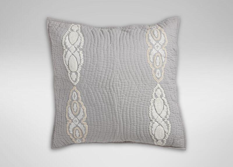 Giorgina Embroidered Sham ,  , large_gray