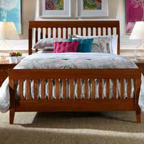 white twin sleigh bed frame full size black