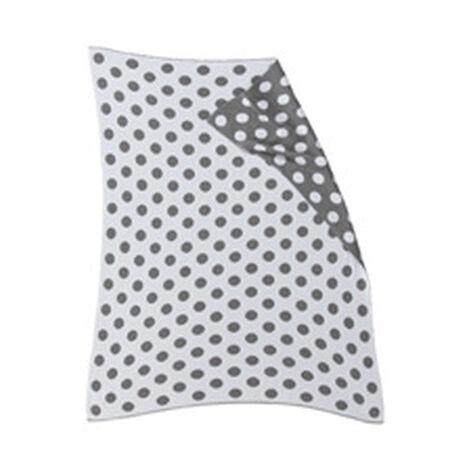 Dotty Stroller Blanket, Mouse Grey ,  , hover_image