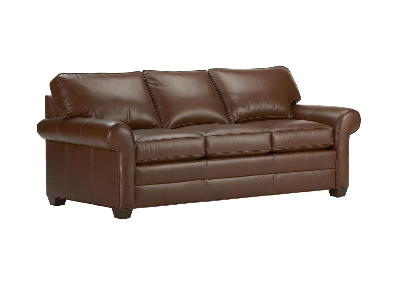 Bennett Roll Arm Leather Sofa Sofas Loveseats