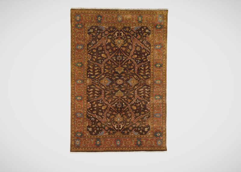 Heriz Rug, Brown/Rust ,  , large_gray